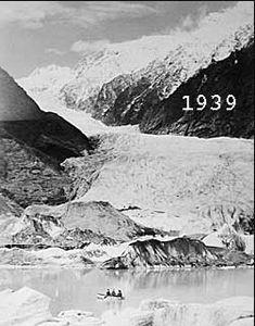 En finir avec le catastrophisme du réchauffement climatique ? Glacier_franz_joseph_newzeland_1939